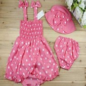 Pinky Princess 3 Pieces Baby Girls Set - Baby Girl Clothes