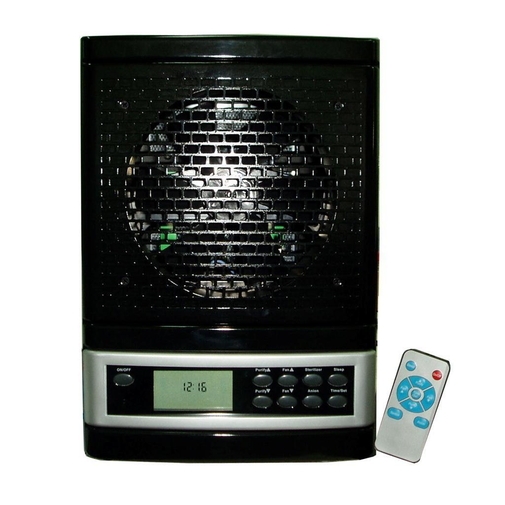 ionic ozone air purifier washable hepa filter remote control 300cho. Black Bedroom Furniture Sets. Home Design Ideas