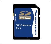 Super Talent SDHC 4GB Class 6 SD Card