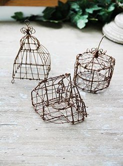Wire Hanging Decorations