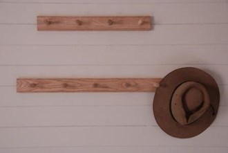 Peg Rails in Oak