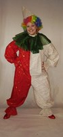 Christmas Clown Onesie for Adults