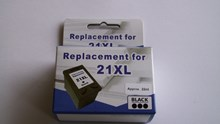 HP21XL BK C9351A High-yield Replacement Cartridges 23ml
