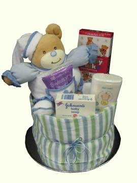 Nappy cake for baby boyjoondalup florist joondalup florist nappy cake for baby boyjoondalup florist negle Gallery