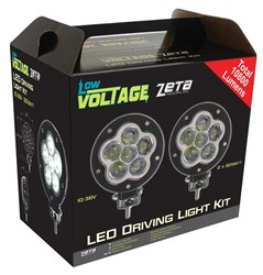 LV0133SKIT - ZETA Industrial Spec LED Driving Light Kit