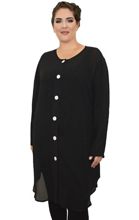 SALE - Jacki Peters - cameron black shirt - final clearance