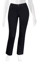 SALE - French Dressing Jeans - Olivia onyx straight leg