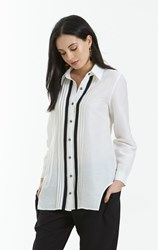 SALE - Obi - crimp tuxedo shirt - final clearance
