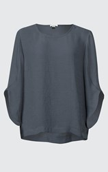 SALE - Verge - blue saint top