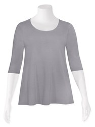 Weyre - dove relaxed scoop top