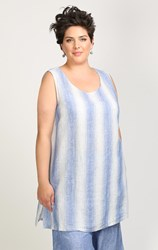 FINAL SALE - Chalet - wave stripe janey tunic
