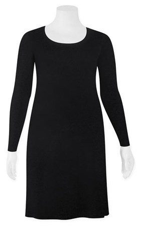 FINAL SALE - Weyre - scoop long sleeve tunic