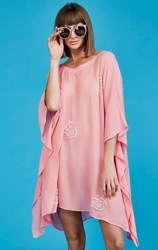 Curate by Trelise Cooper - my heart beads pink kaftan