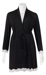 Sleep on it! by Love and Lustre - lace modal robe