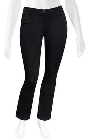 SALE - Olsen - lisa straight leg tribal jean - final clearance