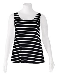 FINAL SALE - Weyre - stripe relaxed tank