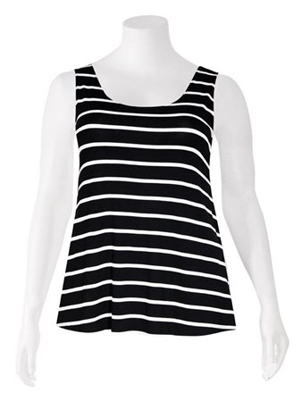 SALE - Weyre - stripe relaxed tank