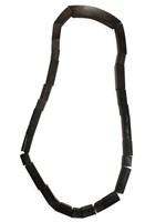 SALE - Caths Accessories - shaped black horn necklace - final clearance