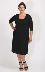 FINAL SALE - Weyre - scoop tunic dress