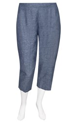 SALE - Tara Vao - obbo chambray 3/4 pant - final clearance