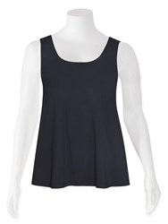 Weyre - charcoal relaxed tank