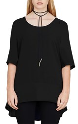 HSL travellers - black winsome top
