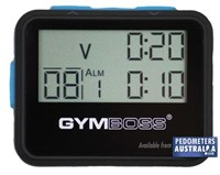 Gymboss Interval Timer Black
