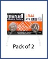 Maxell LR44 Button Cell Battery