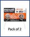 Maxell LR1130 Button Cell Battery