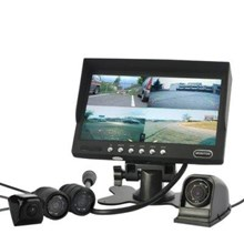 4 Camera Car Rearview/Frontal Monitoring System