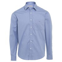 R.M. Williams Collins Standard Collar Shirt - Blue White