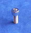 Kustom Bitz - Hex Socket Cap Screw Metric M8 x 20mm Polished Stainless Steel