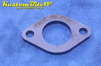 Hot Rod Chassis Crossmember Front Plate - 43 OD Tube, Diamond Round, 8mm thick