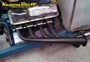 Conversion Plate 10mm for Patriot Lakester Headers - Ford Windsor to Cleveland 2V Mild Steel - 1 1/2 inch pipes