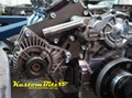 Custom Alternator brackets, air conditioning, Idler pulleys and Fan belts - Hot Rods, Kustoms, engine swaps