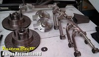 A arms reco IFS parts - Rod City Repros - Lakes Hot Rod Parts - bushes and ball joints