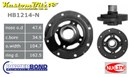 Ford 351 [5.8ltr] EFI Windsor V8 Powerbond Harmonic Balancer 4 Bolt 50 oz. in. [Raised pulley location] - OEM Replacement