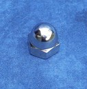 Kustom Bitz - Dome Cap Nuts UNC 5/16 inch Polished Stainless Steel
