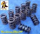 Ford Crossflow 4.1 litre 6cyl Valve Springs - Crow Cams Performance Spring with inner Damper 110lbs [CC-7738]