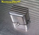 Auto Electrical relay cover - AussieSpeed Finned Polished