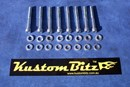 Holden 6 Cyl Bolt Kit 186 & 202 - Timing Cover bolts Only [Silverz]