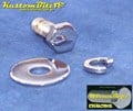 Chrome Bolts Mirror Topz Body Bolt Kit - 5/16 UNC Mud Guard 3 piece