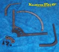 Hot Rod Cycle guard bracket kit - Rear Wheel - solid axle - Mild Steel