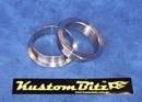 Kustom Bitz Exhaust V band ring collars only - a pair to suit 2