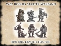 Rogues Starter Warband pack