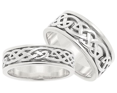 ID301 Hope - Ladies,Closed weave ring embracing the promise of all things  to come.