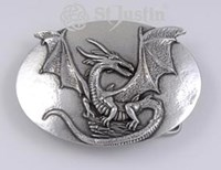 BU-09 - Celtic Dragon Buckle