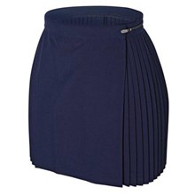 single pleat skirt - prestalene