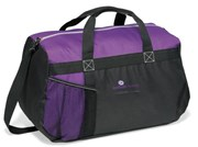 CLEAREANCE - netball champ duffle bag with mesh pocket