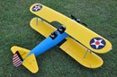 FMS Stearman PT-17 Radio Remote Control Electric RC Bi-Plane Airplane ( ARF )